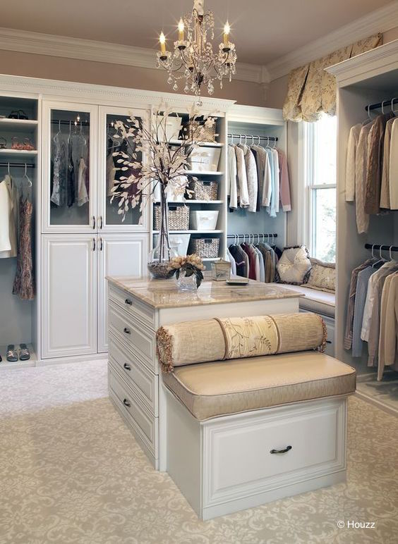 dressing intérieur luxueux