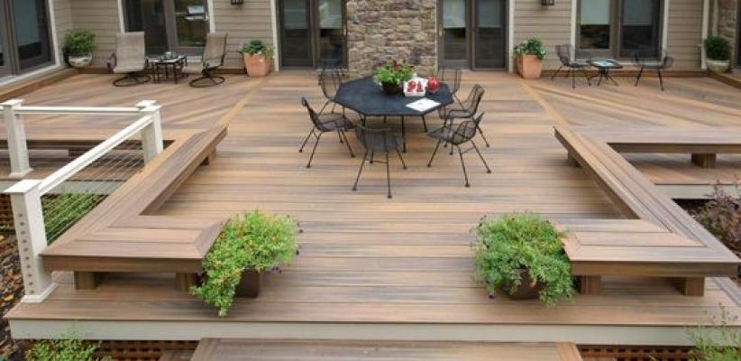 Id es d co festive pour un jardin en f te solvari - Construire un toit terrasse ...
