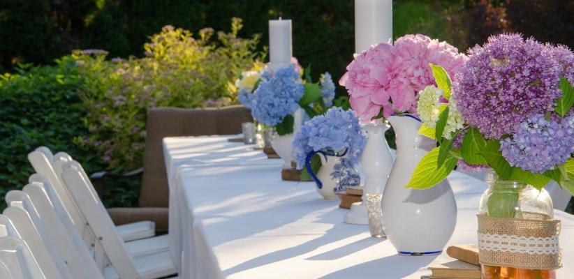 Id es d co festive pour un jardin en f te solvari for Blog deco jardin