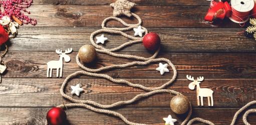 Maak je eigen kerstdecoratie met deze tips