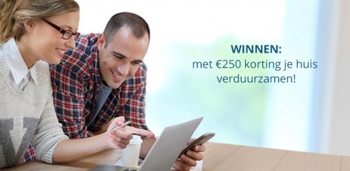 Huis verduurzamen met €250 korting?