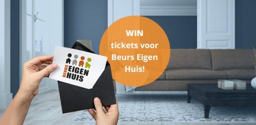 Winnen: twee entreekaarten voor Beurs Eigen Huis!