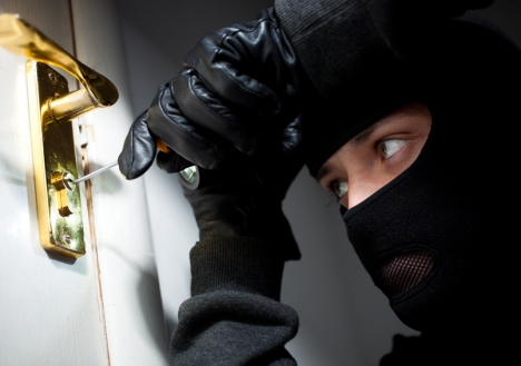 Beveilig je huis goed tegen inbrekers!